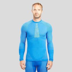 Camiseta térmica esquí NIEVE interior WED'ZE 900 hombre azul