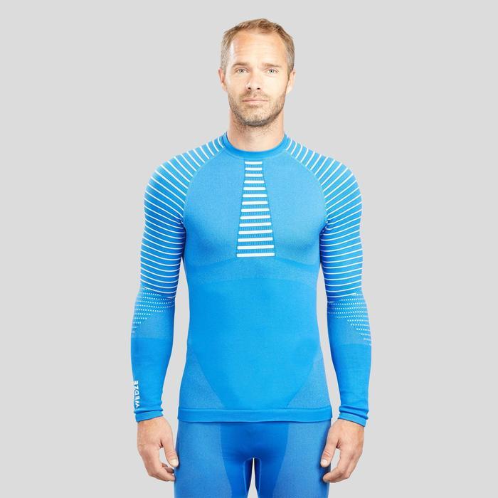 Skithermoshirt voor heren 900 blauw