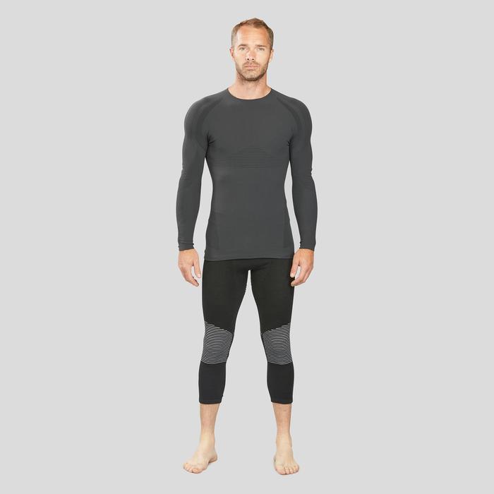 Sous-vêtement de ski homme 900 ultra respirant haut gris