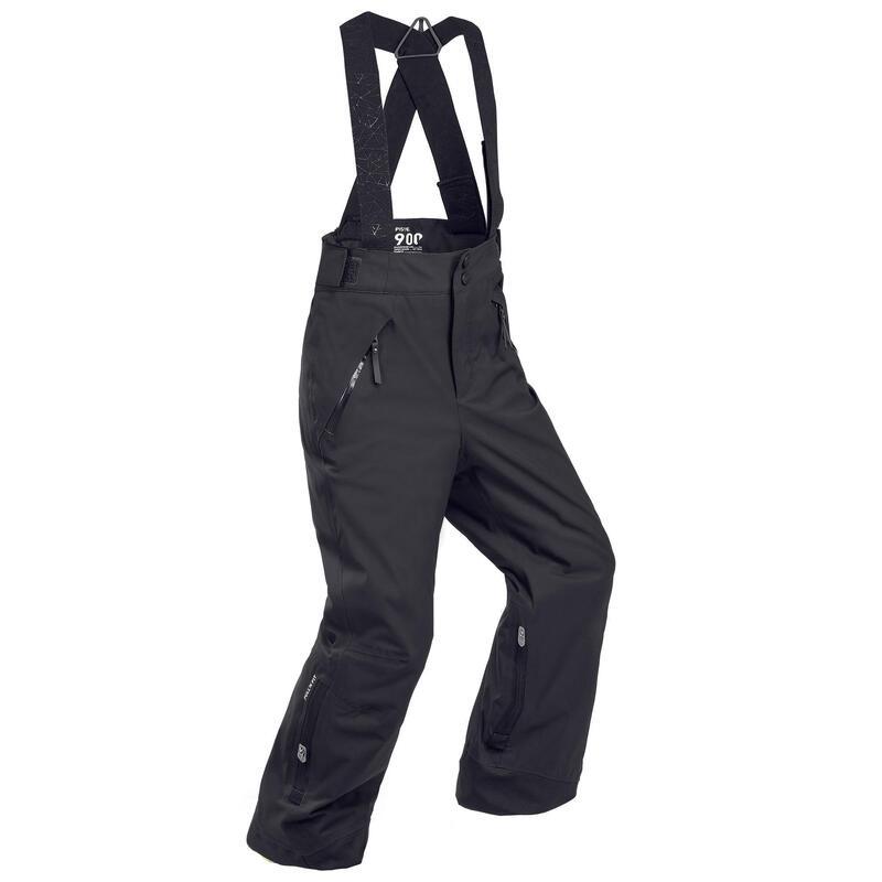 Skibroek kind waterdicht | Lengte verstelbaar | Warm | PNF 900 | Zwart