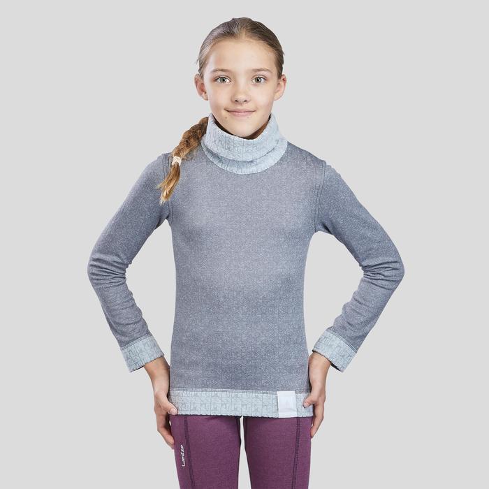 Sous-vêtement de ski Enfant Haut 2WARM gris