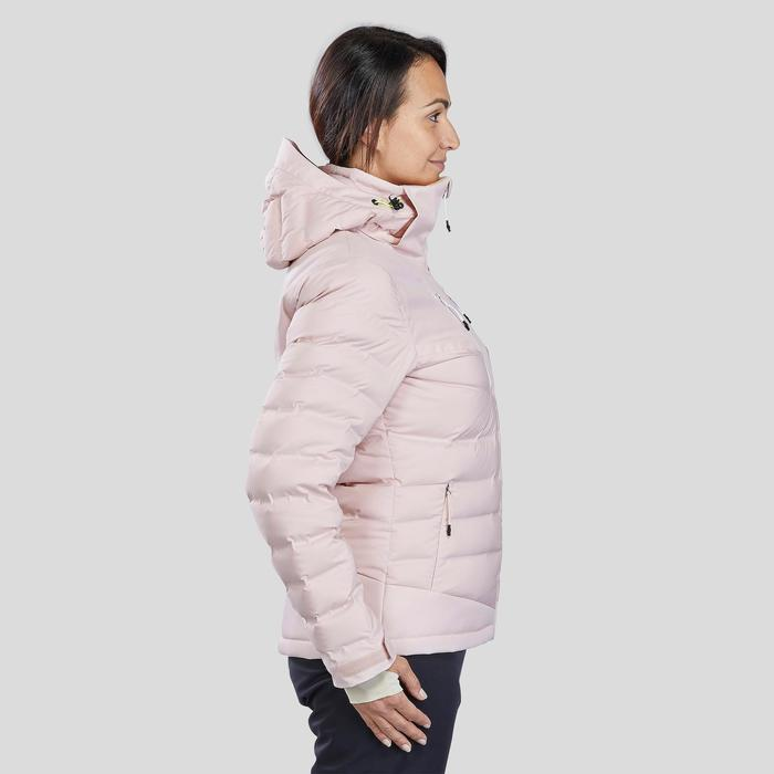 Donsjas dames ski 900 Warm roze
