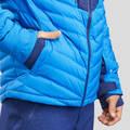 PÁNSKÉ BUNDY/KALHOTY NA LYŽOVÁNÍ (ZKUŠENÍ) Lyžování - LYŽAŘSKÁ BUNDA 900 WARM MODRÁ WEDZE - Lyžařské oblečení a doplňky