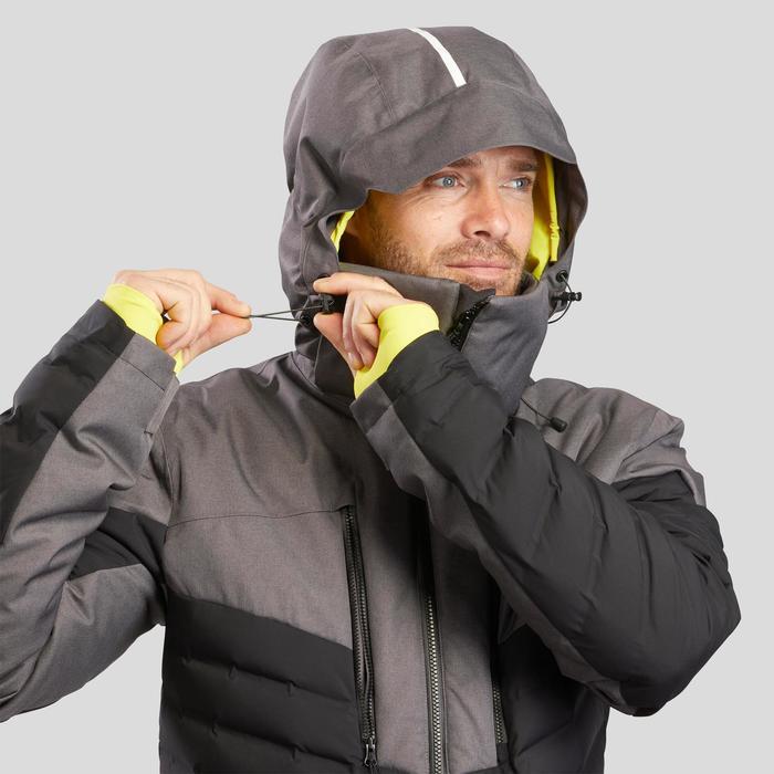 MEN'S DOWNHILL SKI JACKET 900 WARM - BLACK