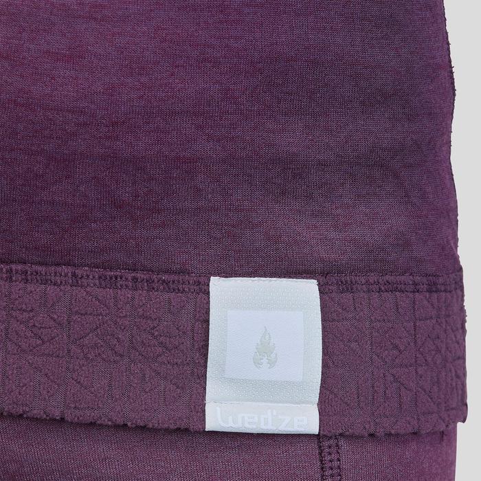 Skiunterhemd Funktionsshirt 2Warm Kinder violett