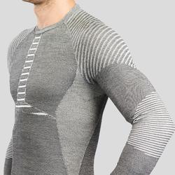 Sous-vêtement de Ski Homme Haut 900 X-Warm Gris