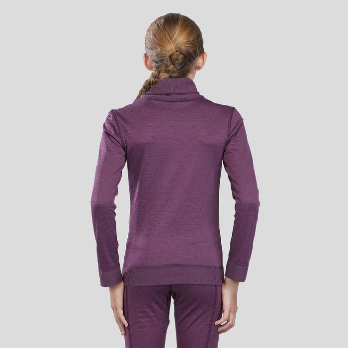 Sous-vêtement de ski Enfant Haut 2WARM Violet