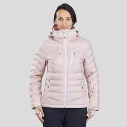 Abrigo Chaqueta Plumón Nieve y Esquí Wed'ze 900 Warm Mujer Rosa