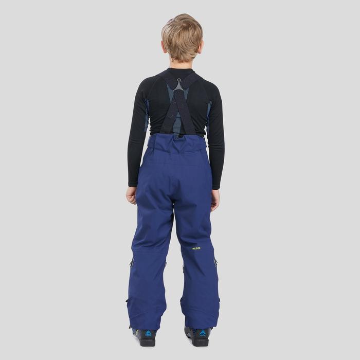 Skihose Piste 900 Kinder marineblau