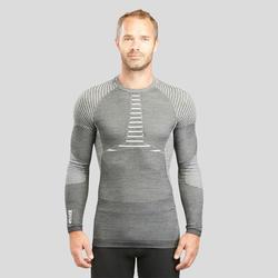 Skiondershirt voor heren 900 X-Warm grijs