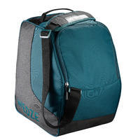 Ski Boot Bag 500 - Grey and Green