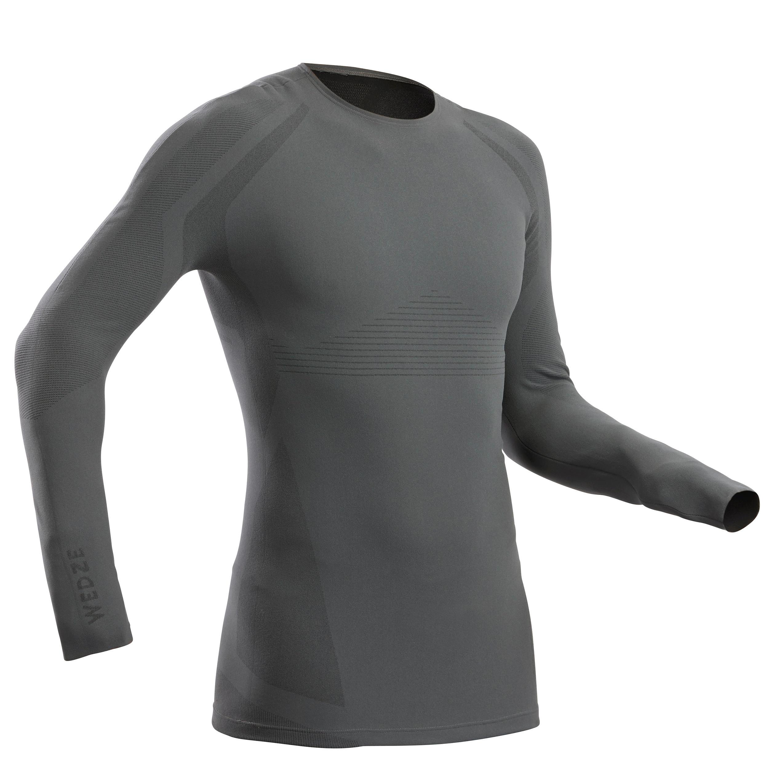 Bluză schi 900 gri bărbați imagine