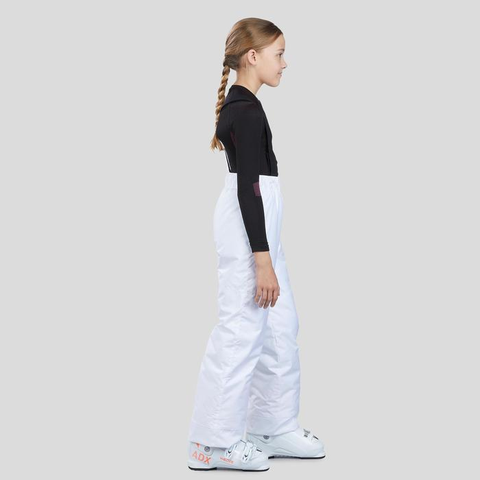 CHILDREN'S SKI TROUSERS 100 - WHITE