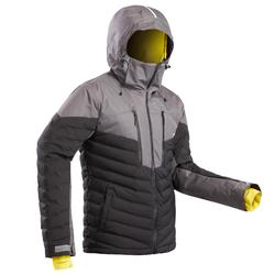 Winter ski jas voor heren 900 winterjas warm zwart