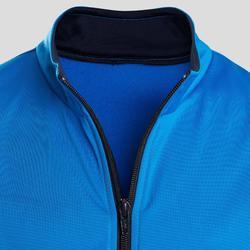 Warm en ademend synthetisch trainingspak voor jongens S500 GYM'Y blauw