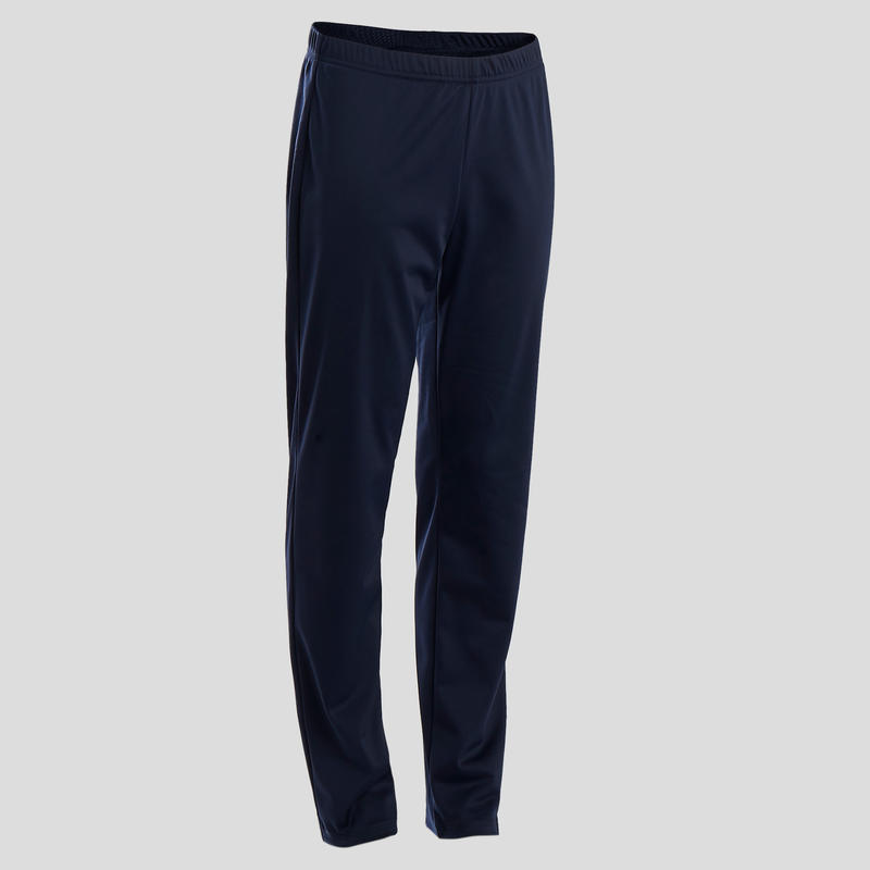 S500 Gym'y Boys' Warm Breathable Synthetic Gym Tracksuit - Blue