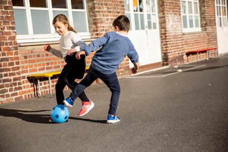Calzado de marcha para niños Soft 140 azul marino / blancas