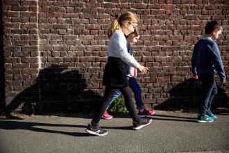 兒童健走鞋