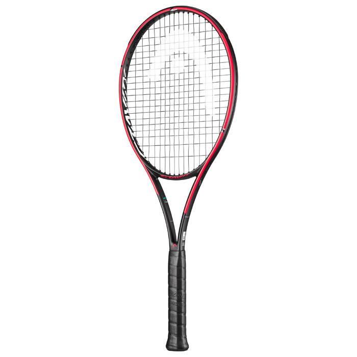 Tennisschläger Gravity MP Graphene 360+ Erwachsene orange/blau