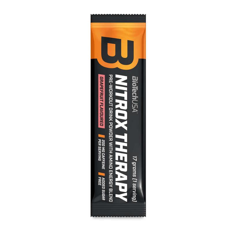 FEHÉRJÉK ÉS ÉTRENDKIEGÉSZÍTŐK Táplálékkiegészítő, sporttáplálkozás - NITROX THERAPY 17G GRAPEFRUIT BIOTECHUSA - Multisport kiegészítők