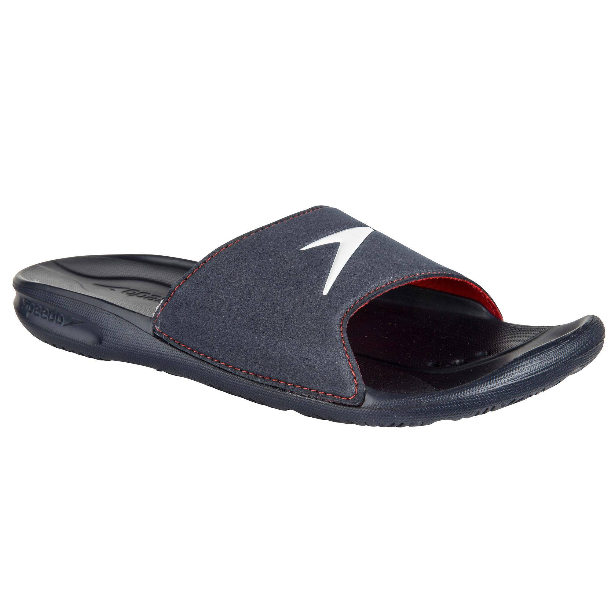 Speedo Herenslippers Atami Core blauw Speedo