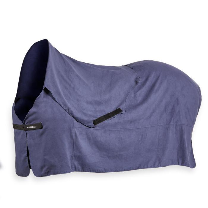 Chemise séchante équitation cheval et poney INTEGRALE bleu gris