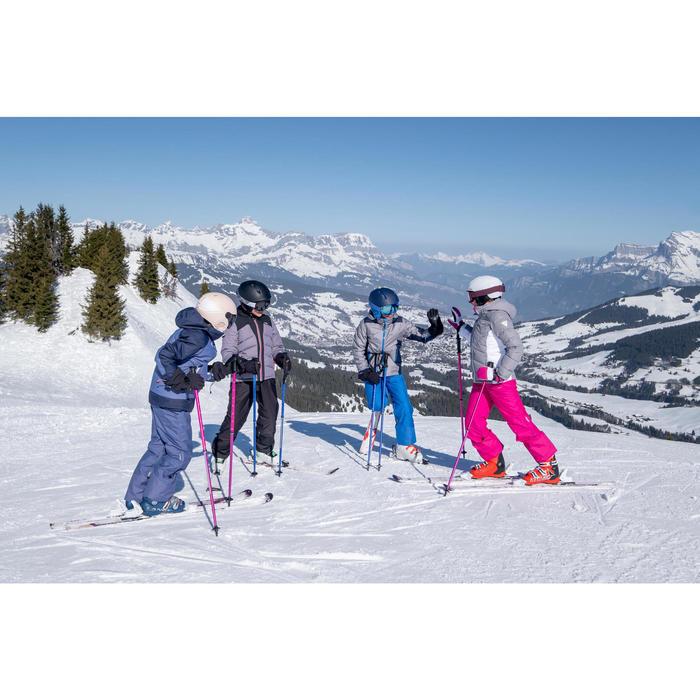 Ski Piste Boost 500 Kinder violett
