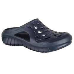 男士泳池拖鞋 - 深藍