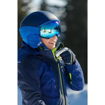 兒童與成人好天氣單/雙板滑雪護目鏡G 520 - 亞洲藍