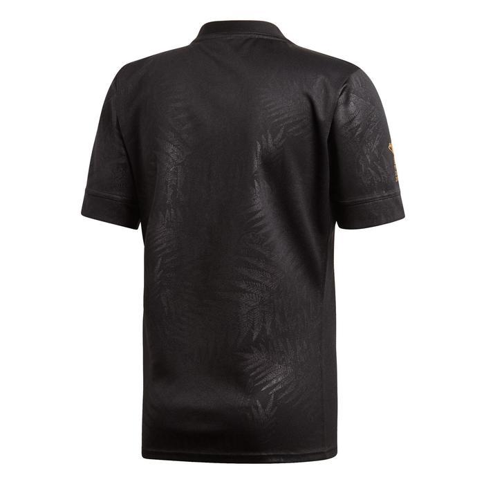 Rugbyshirt voor volwassenen Replica Nieuw-Zeeland RWC19 zwart
