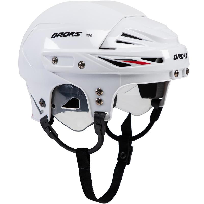 IJshockeyhelm kind IH 500 wit