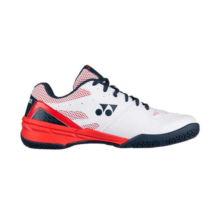 Chaussures de Badminton Homme Power Cushion 56 White/Red