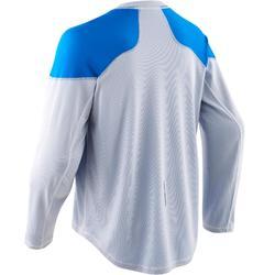 Trainingsshirt voor skeelerhockey volwassenen ILH500 blauw/wit