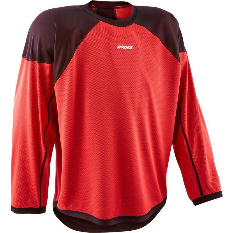 Adult Training Jersey IH 500 - Black/Red