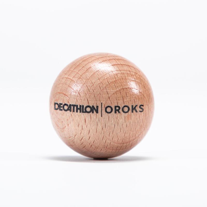 Wooden Hockey Ball