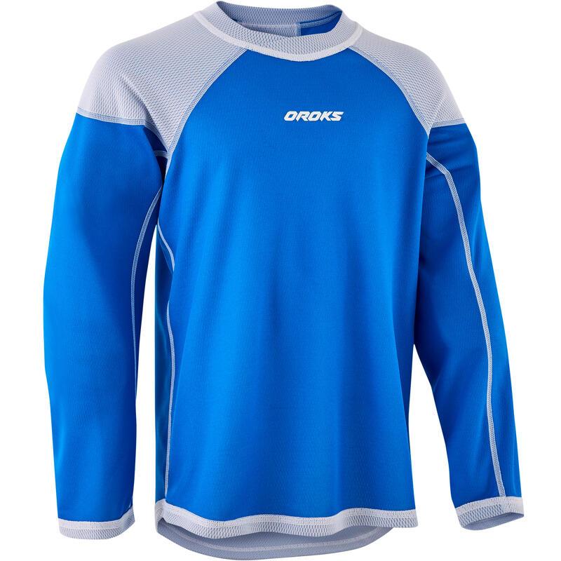 Kids' Training Jersey ILH 500 - White/Blue