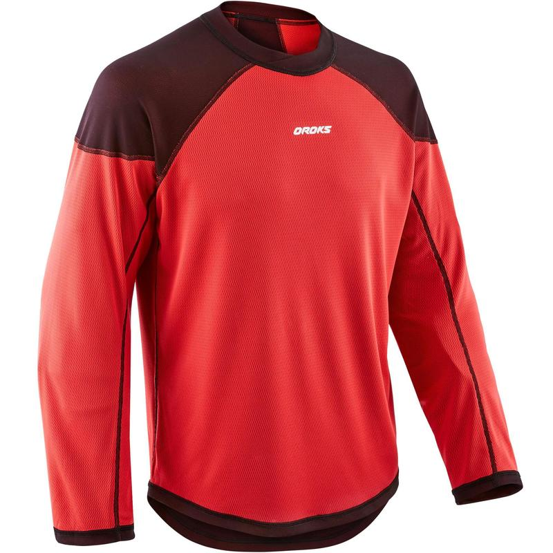 Adult Training Jersey ILH 500 - Black/Red