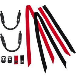 Universal-Riemenset IH 500 für Hockeyhelme schwarz