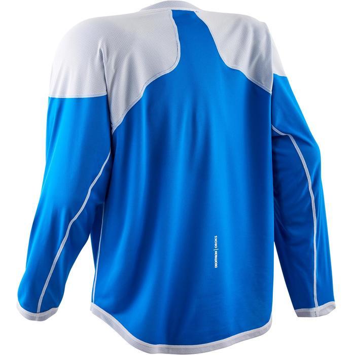 Hockeyshirt senior IH 500 blauw/wit