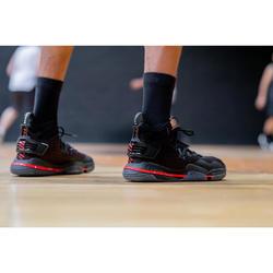 Men's Mid-Rise Basketball Shoe Elevate 900 - Black