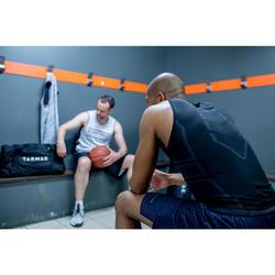 男款底層籃球背心UT500 - 黑色