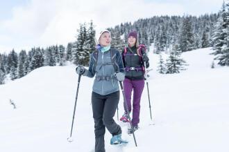 Contempler la nature en randonnée l'hiver