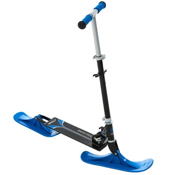 PRODUCTO REACONDICIONADO: Patinete Nieve Plegable Snow Kick Azul