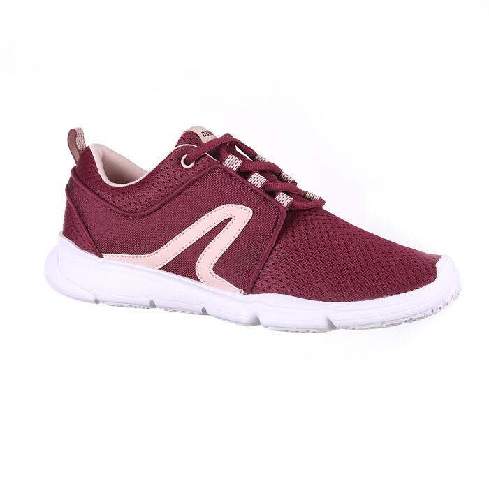 Chaussures marche sportive femme PW 120 violet