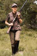 VETEMENTS CHASSE FEMME Caccia - Cappellino donna 500 marrone SOLOGNAC - Abbigliamento caccia