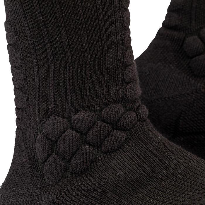 Halfhoge skateboardsokken Socks 500 zwart