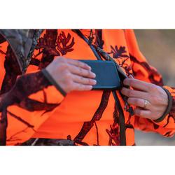 Jagd-Regenjacke 500 geräuscharm atmungsaktiv PSA Damen