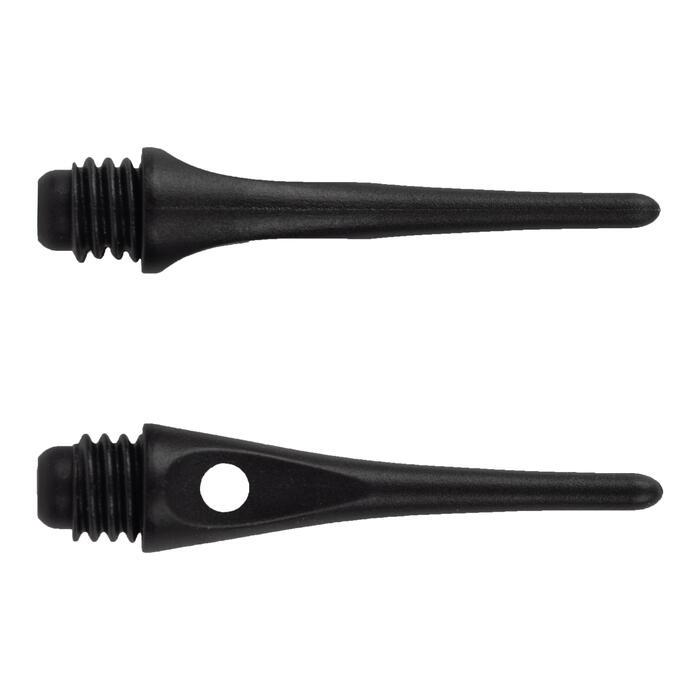 Kunststoffspitzen schwarz für elektronische Dartscheiben 50 Stück