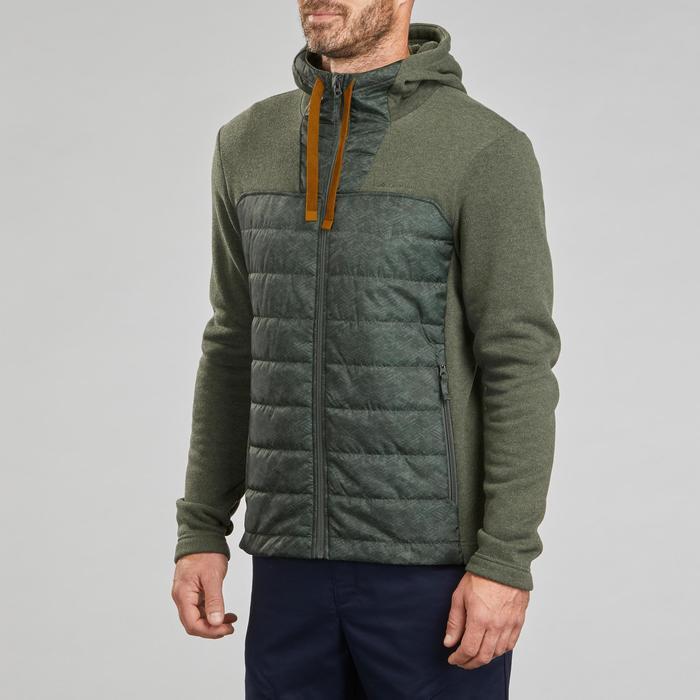 Pullover Naturwandern NH500 Herren khaki