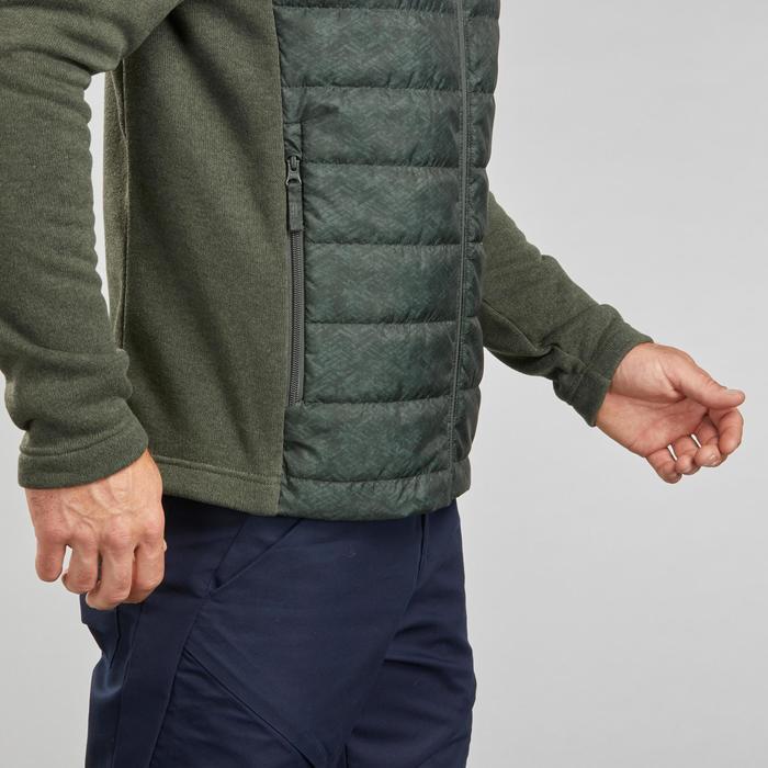 Hybride wandelsweater voor heren NH100